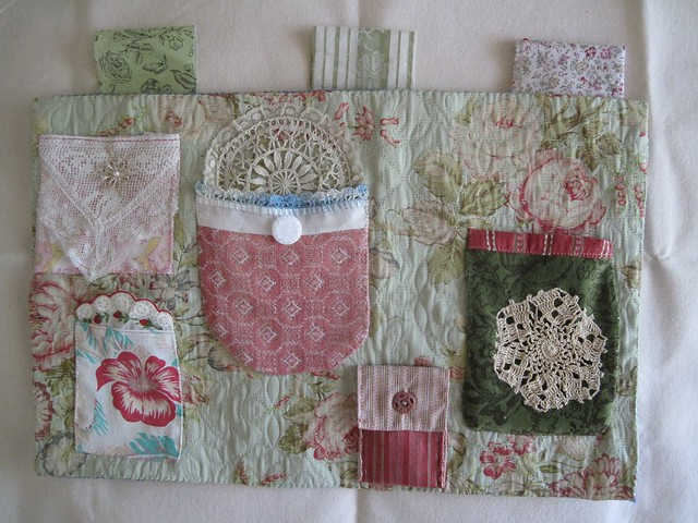 Fabric Organizer With Pockets Wall Hanging Flickr