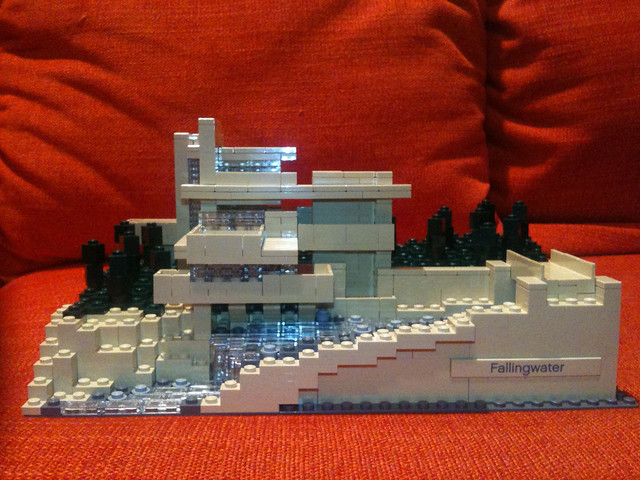 Lego falling water flickr photo sharing - Falling waters lego ...