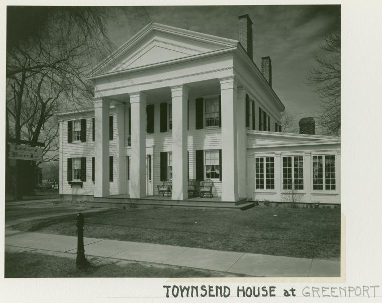 Townsend house at Greenport