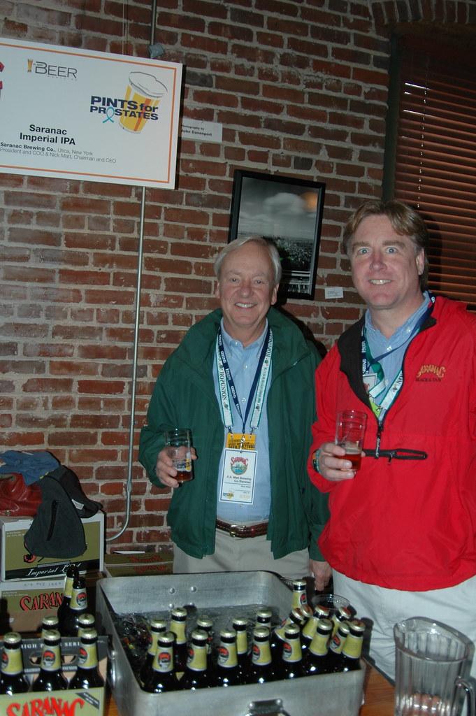 33. Nick & Fred Matt, Saranac Brewing Co