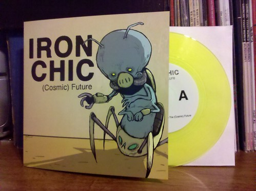 "Iron Chic - (Cosmic) Future UK Tour 7"" - Yellow Vinyl /100"