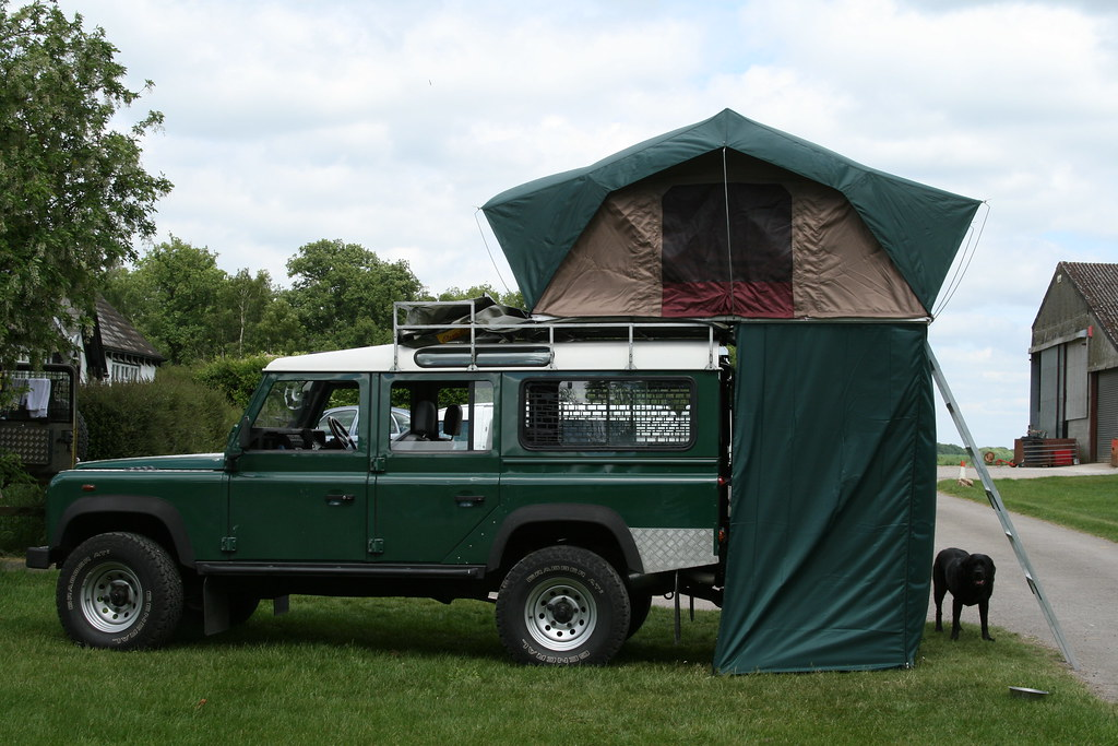 MyWay 1.4m Evolution roof tent