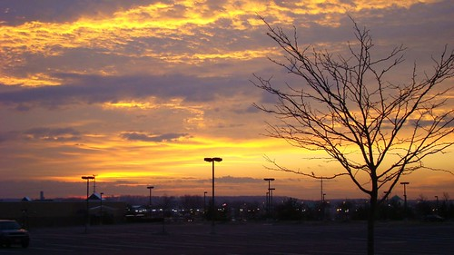 red orange yellow sunrise pretty maryland frederick