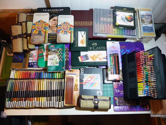 Colored Pencil Sets Collection 1