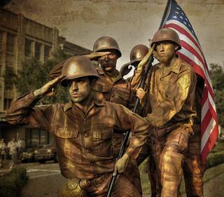 Soldiers Iwo Jima Statue