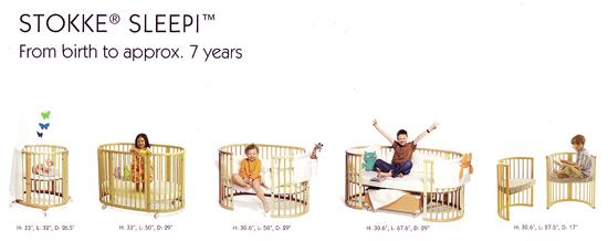 stokki sleppi - 出生到七歲