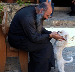 a priest's best friend is his dog