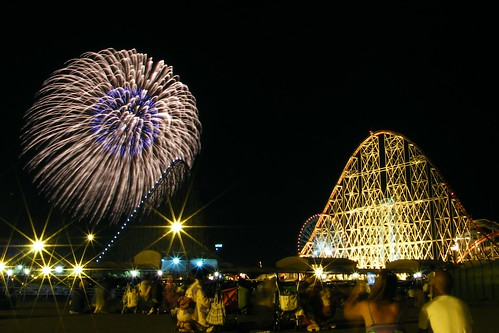 Fireworks at Nagashima Spaland