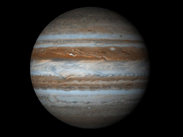Jupiter, the LARGEST planet