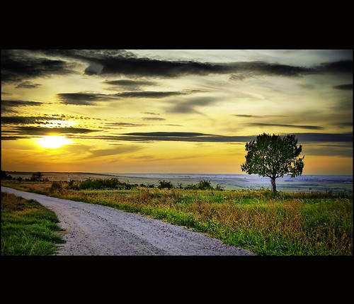 road sunset sky tree landscape dawn top quality images hills only theme hdr cloudscapes lonelyness nikond60 3expo worldbest topqualityimagesonly saariysqualitypictures themonalisasmile outstandingromanianphotographers