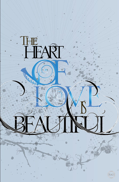 typographics / the heart love