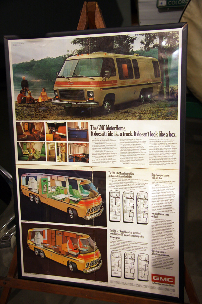 The GMC MotorHome by  When lost in.... from Flickr