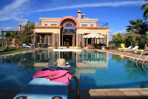 Riad casa taos ferme d 39 hotes luxe avec piscine a for Riad a marrakech avec piscine