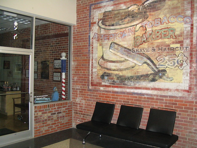 Barber Shop Durham Nc : NC American Tobacco Barber Shop Durham 1 Flickr - Photo Sharing!