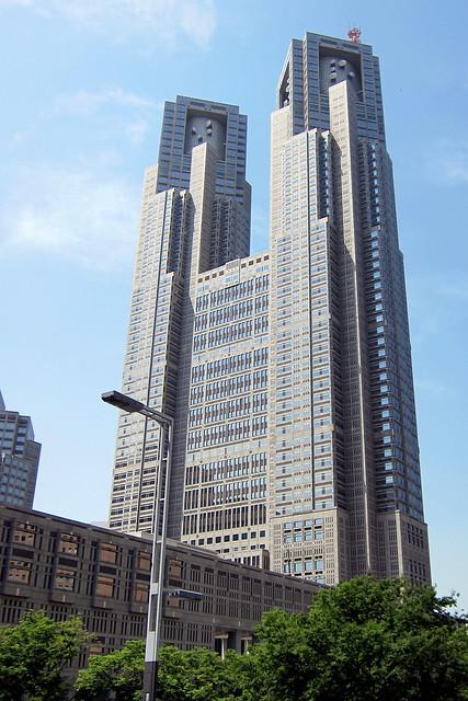 Tokyo - Nishi-Shinjuku: Tokyo Metropolitan Government Building  Flickr - Pho...