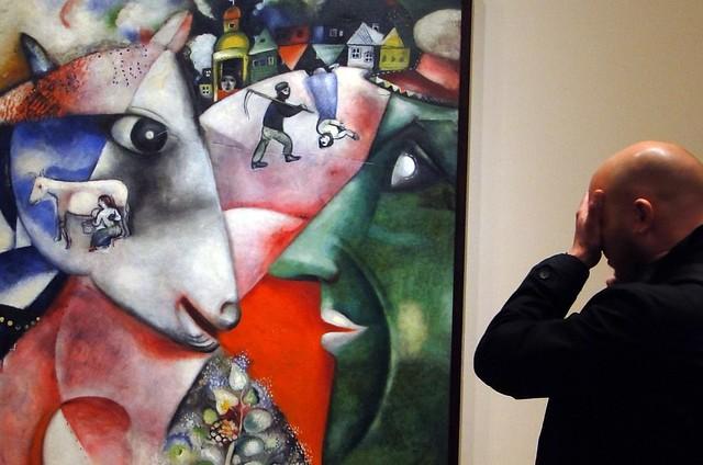 MoMA, vendo Chagall