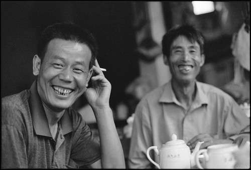 500 Tea Drinkers Part3 Zhejiang Tongxiang  Village 五百茶客 浙江 桐乡镇 2005-39