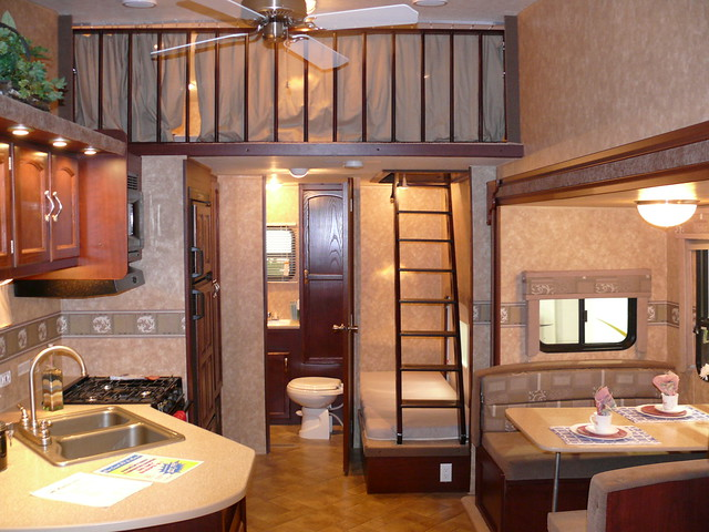 Pull trailer with a loft flickr photo sharing for Rv with loft