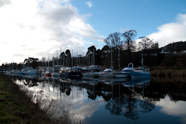 Caledonian Canal Boats