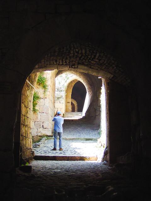 Entrance corridor krak des chevaliers flickr photo sharing - Corridor entrance ...
