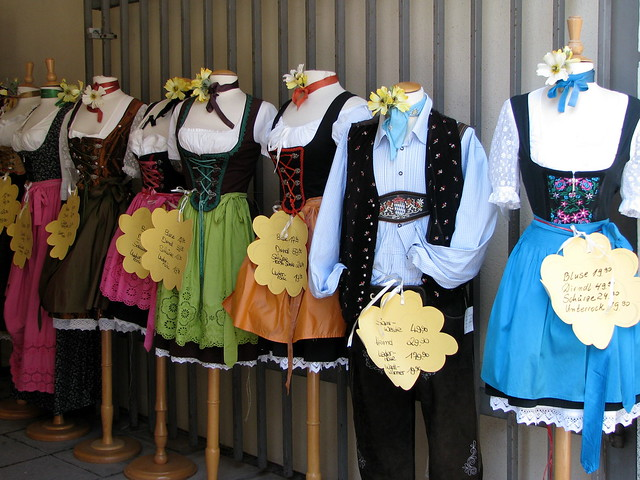 """Dirndl"" on sale"