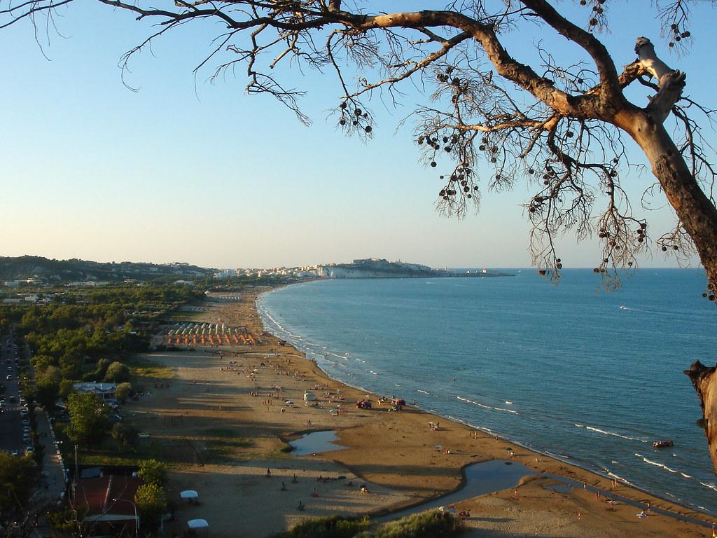 vieste beach