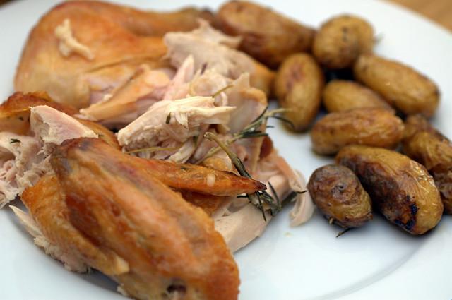 classic roast chicken | Flickr - Photo Sharing!