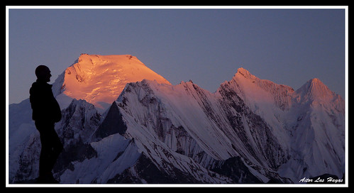 pakistan mountain sunrise atardecer montaña karakorum chogolisa