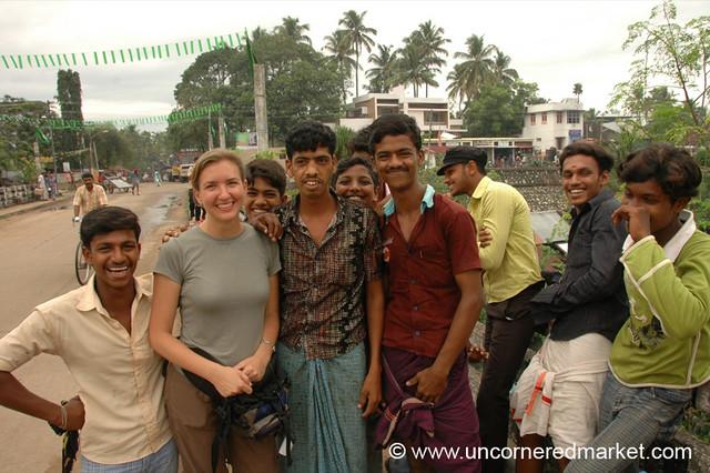 Audrey and the Boys - Kollam, India