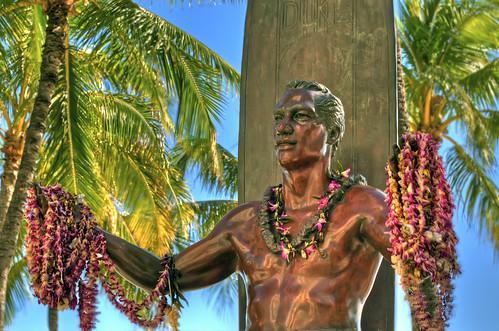 Duke Paoa Kahanamoku Statue