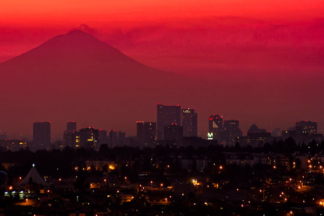 mexico city sunrise por Jose Luis Ruíz
