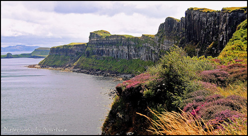 Skye Trip - The Cliffs Near Staffin