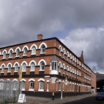 The Brolly Works, 78 Allison Street - corner of Well Lane and Allison Street - former factory