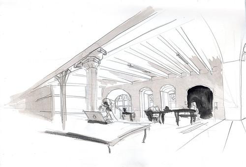 Möllenbeck Monastery, studio