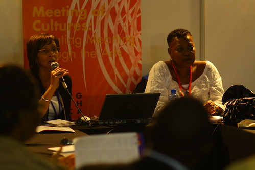 Patrice Walker Powell (USA) and Korkor Amarteifio (Ghana), 4th World Summit on Arts & Culture