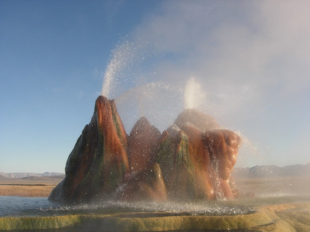 Fly Geyser, near Gerlach, Nevada 2