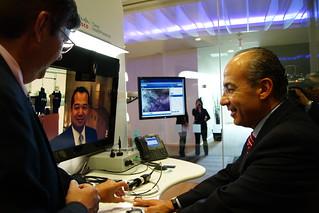 Felipe Calderon, Health presence