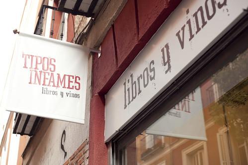 Una nueva libreria-vinacoteca en madrid