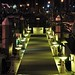 Small photo of Ala Wai floating dock at night