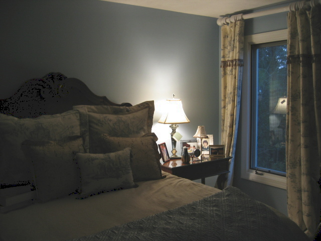 Blue Toile Decorating Ideas: French Blue Toile Bedroom