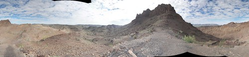 arizona panorama mountains desert hiking trail wilderness yuma mugginsmountains