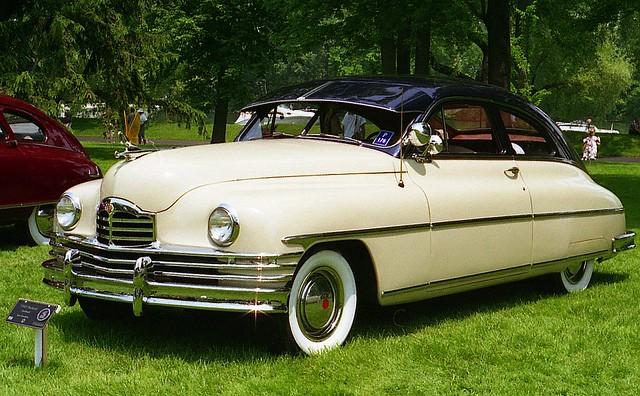 1949 packard super eight club sedan 2 door fastback