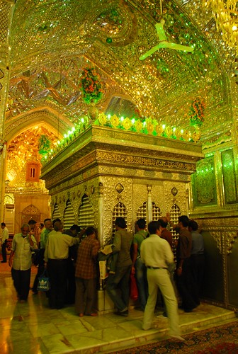 inside of Shah Cheragh