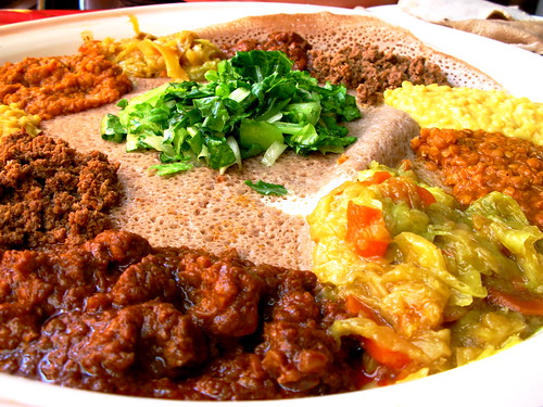 Ethiopian Food = yummy goodness!