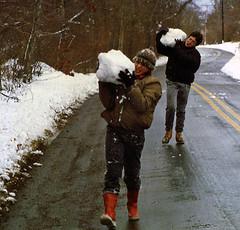 John and Richard Parry, South Westport, Massachusetts, 1987