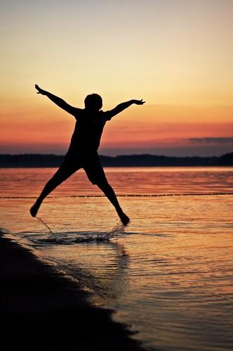 Summer Evening at Salamonie Lake...