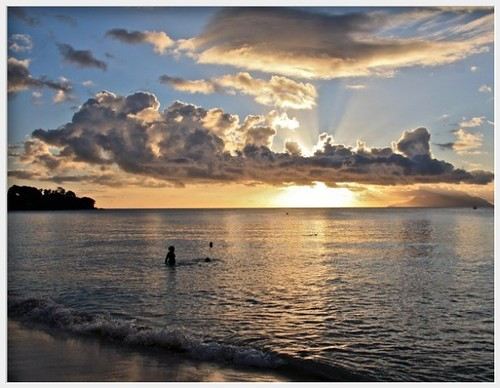 sunset sea love mare seychelles sole amore mahe marpostadelsol