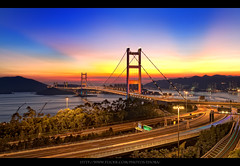 Blazing Tsing Ma Bridge | 火 焰 青 馬