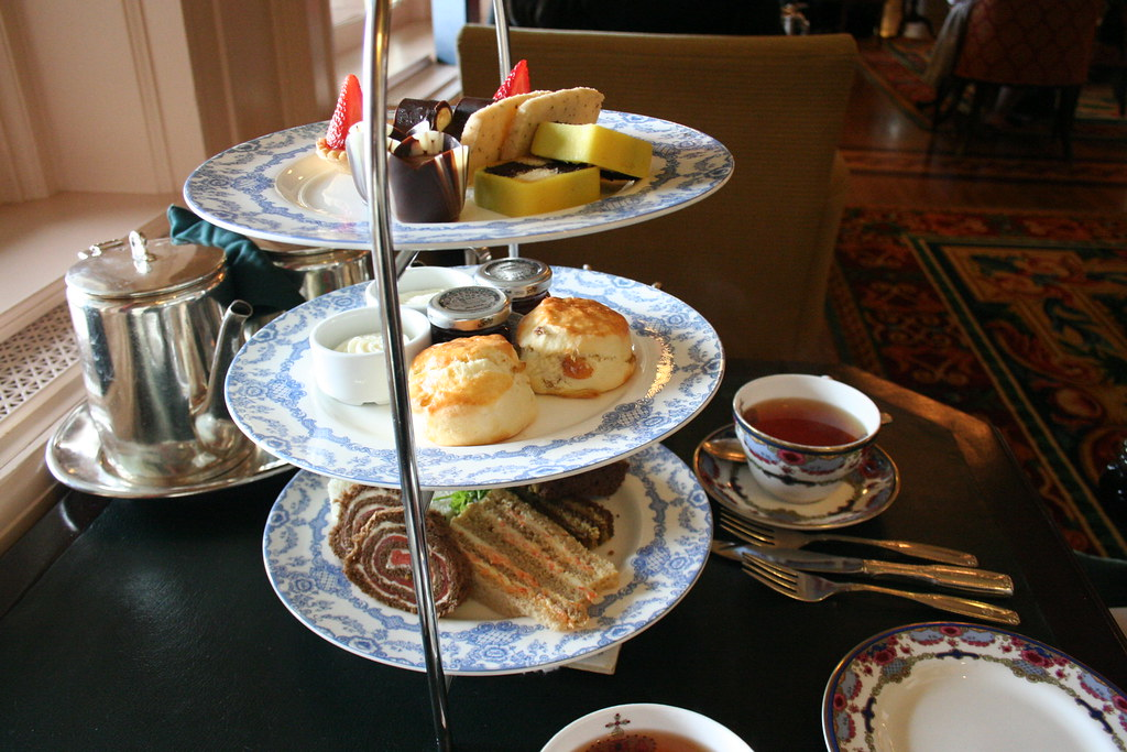 Afternoon tea at the Empress Hotel, Victoria