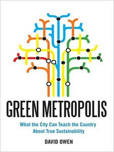 Book cover, Green Metropolis, by David Owen